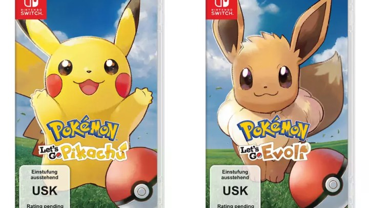 Pokémon Let's Go Pikachu & Evoli: Neue Titel ab dem 16. November