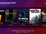 Twitch Prime - Free Games Bundle