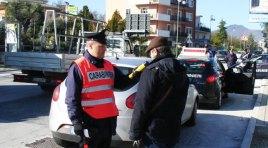 Carovilli: perde il controllo dell'auto perché in stato di ebbrezza. Intervengono i Carabinieri