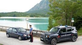 Castel San Vincenzo: Ferragosto sul lago con droga e armi. I Carabinieri beccano quattro giovani del frusinate.