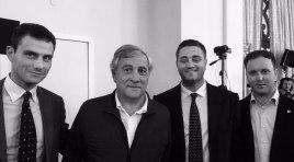 Cavedegna nuovo coordinatore nazionale Forza Italia Giovani , gli auguri di Alessandro Patriciello.