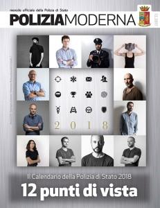 polizia calendario 2018