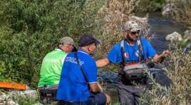 Pesca sportiva: Mondiali di pesca a mosca in Trentino, medaglia di bronzo per l'atleta della Sps Ravindolese Andrea Pirone.