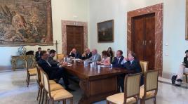 Roma, Toma dal sottosegretario Giorgetti