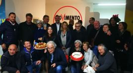 Vinchiaturo: inaugurato l'info point del Movimento Cinque Stelle