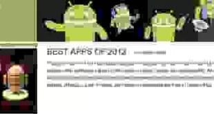 Le migliori applicazioni Android del 2012 elette da Google!