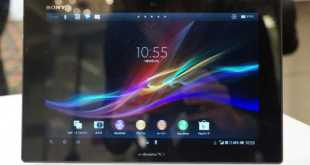 Sony Xperia Tablet Z: nuove foto e video hands-on