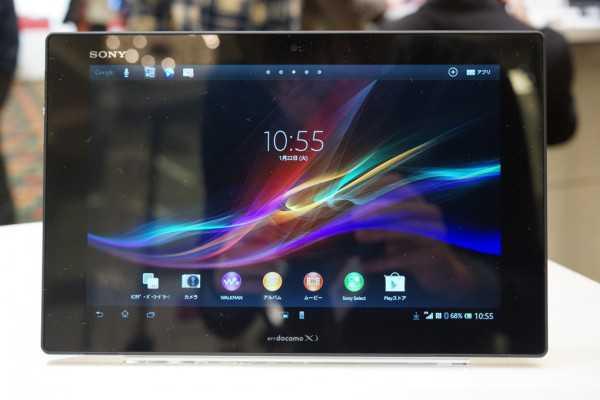 Arriva Sony Xperia Tablet Z nel Regno Unito il 20 maggio, a £ 499
