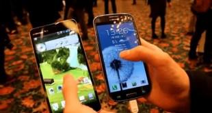Lg Optimus G Pro si mostra in video vicino ad un Galaxy S3 !
