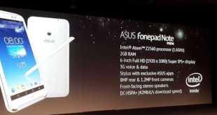 IFA 2013 | ASUS Presenta FonePad Note 6