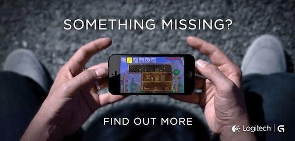 iPhone: Ecco la prima immagine del Gamepad di Logitech!