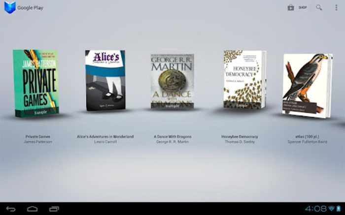 Google Play Libri si aggiorna permettendo l'upload di libri da dispositivi Android