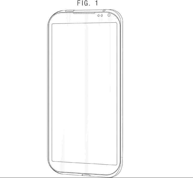 Samsung brevetta un design per smartphone senza tasti