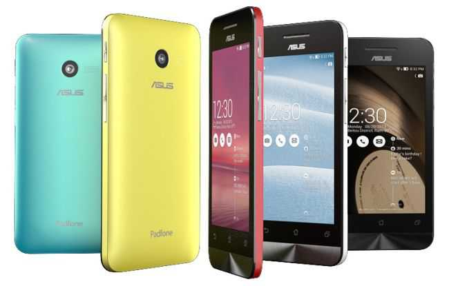 Asus presenta i dispositivi Zenfone 4,5,6 pollici powered Intel