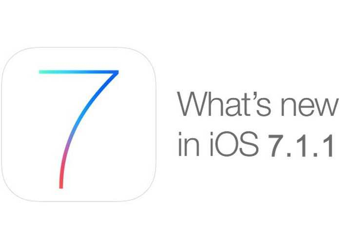Apple rilascia iOS 7.1.1 per iPhone, iPad, iPod Touch