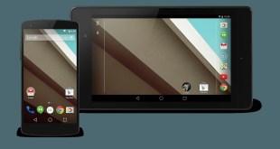 Scarica Android L (non ufficiale) per Nexus 4 e Nexus 7 (2012)