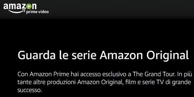 Amazon Prime Video ufficiale in Italia: dettagli e costi