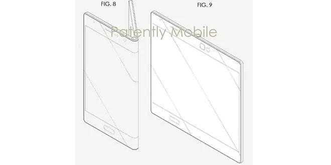 Samsung Galaxy X, brevetto mostra come uno smartphone