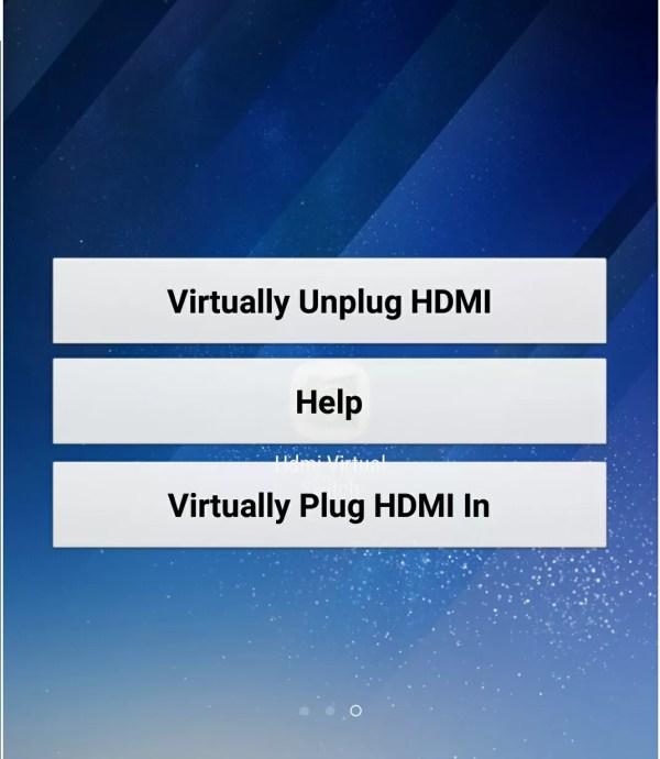 HDMI Virtual Switch
