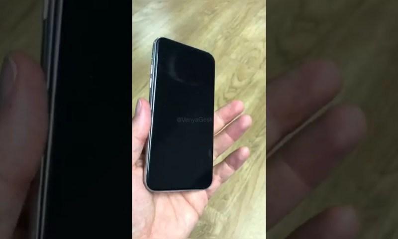 iPhone 8: il mockup si mostra in un breve video