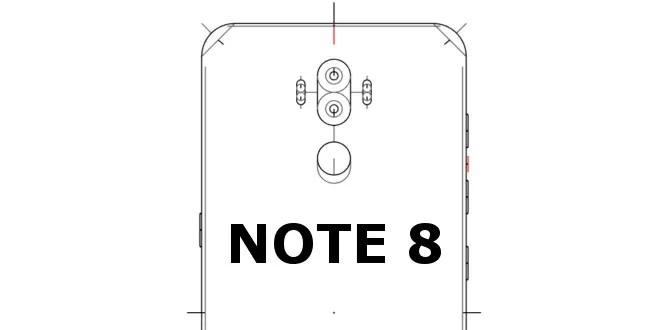 Samsung Galaxy Note 8 con doppia fotocamera, doppio flash