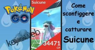 Pokémon GO, come sconfiggere e catturare Suicune