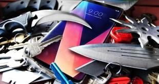 LG V30 vs iPhone 8 in uno Scratch test decisivo