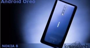 Android Oreo per Nokia 8 esce oggi
