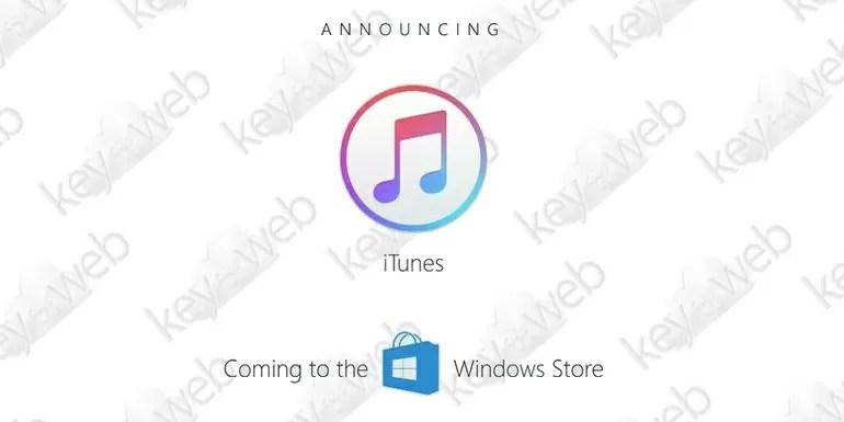 Apple conferma: niente iTunes su Microsoft Store fino al