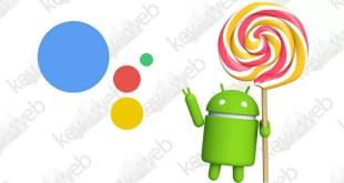 Google Assistant sbarca sui dispositivi con Android 5.0 Lollipop