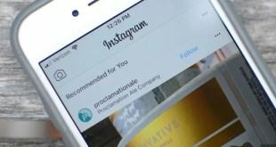 """Instagram testa la nuova sezione """"consigliati per te"""""""