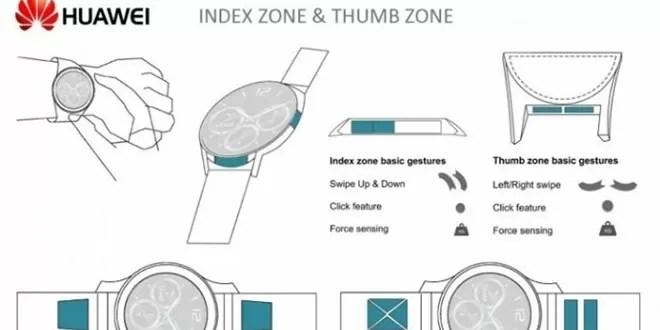 Smartwatch Huawei in arrivo con bordi interattivi