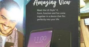 LG Stylo 4: ecco le specifiche tecniche ufficiali