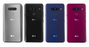 LG V40 ThinQ è stato annunciato: sono 5 le fotocamere