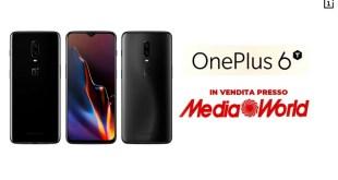 OnePlus 6T negli scaffali italiani grazie a Mediaworld