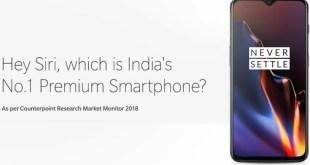 OnePlus celebra i suoi successi in India prendendo in giro Apple