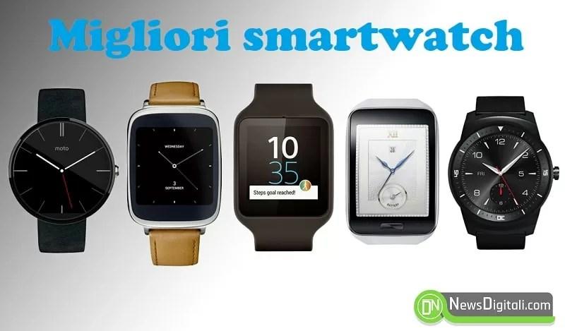 Migliori Smartwatch, eccone alcuni in commercio