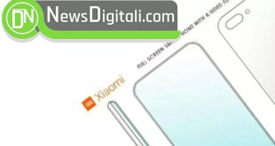 Xiaomi brevetta uno schermo che abbraccia completamente lo smartphone