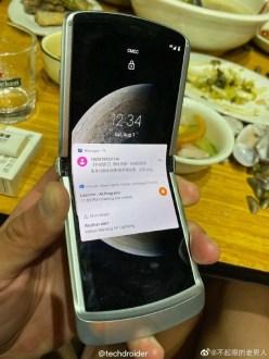 Motorola Razr 2020 5G: ecco le prime foto reali
