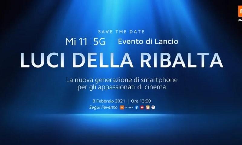 Xiaomi annuncia la data di presentazione di Mi 11