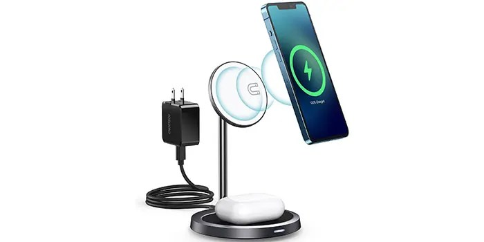 Recensione CHOETECH 2-in-1 MagSafe Charger Wireless Charging stand