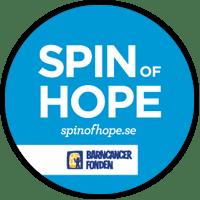 Spin of Hope - Barncancerfonden