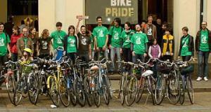 Велосипедисты Турина Италия
