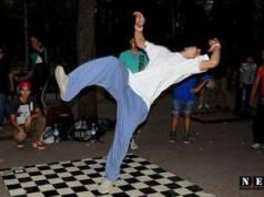 Танцы в Кишиневе