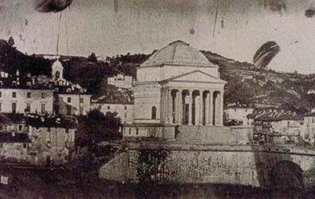 История первой фотографии Турина античность фотограф Турин