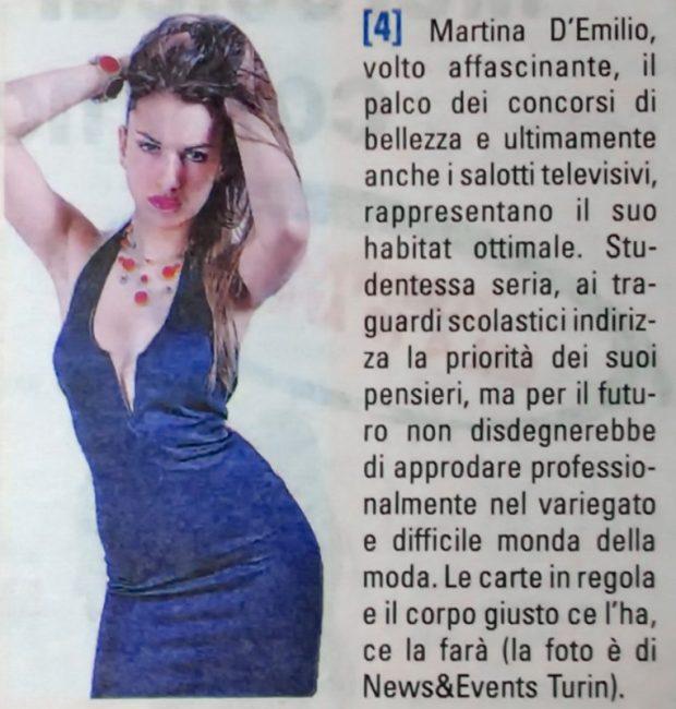 NET_riprese Miss fotomodella Martina cronacaqui