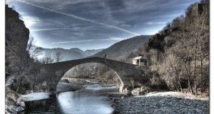 Дьявольский мост в Турине Италия