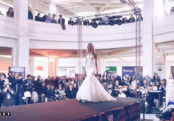 Показ мод в Италии Турин Линготто fashion contest