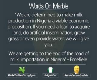 CBN milk production
