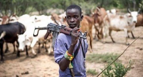 •Herdsman wielding weapon
